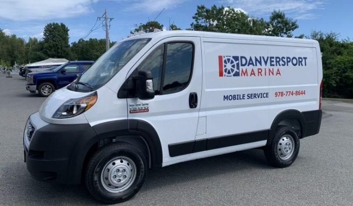 mobile marine service van